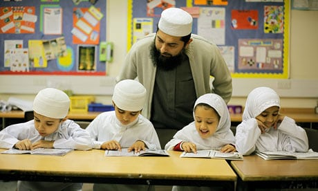rown Hills madrasa highlights what can be achieved with training and good community ties. All staff are CRB-checked and corporal punishment is prohibited. Photograph: David Sillitoe for the Guardian