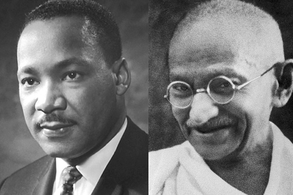 MLK and Gandhi