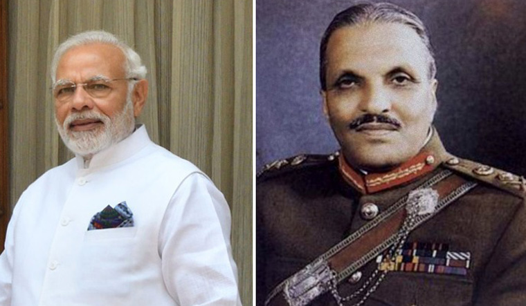 Modi and Zia ul haq