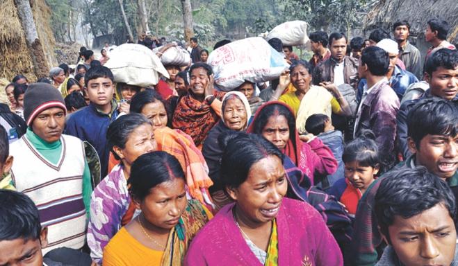 bangladeshi Hindus attacked