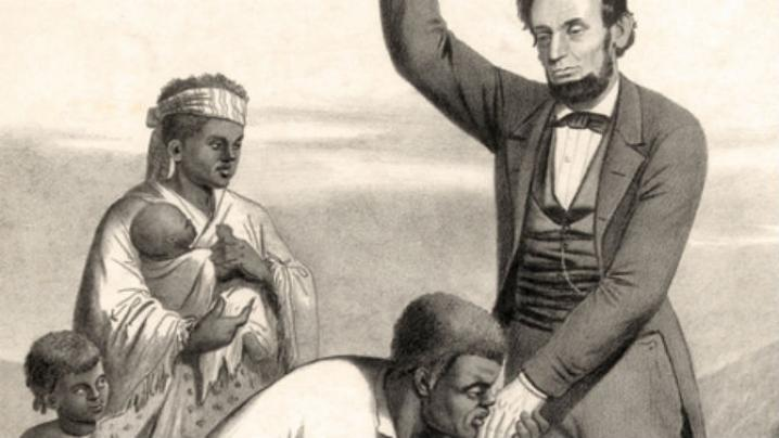 why lincoln freed the slaves