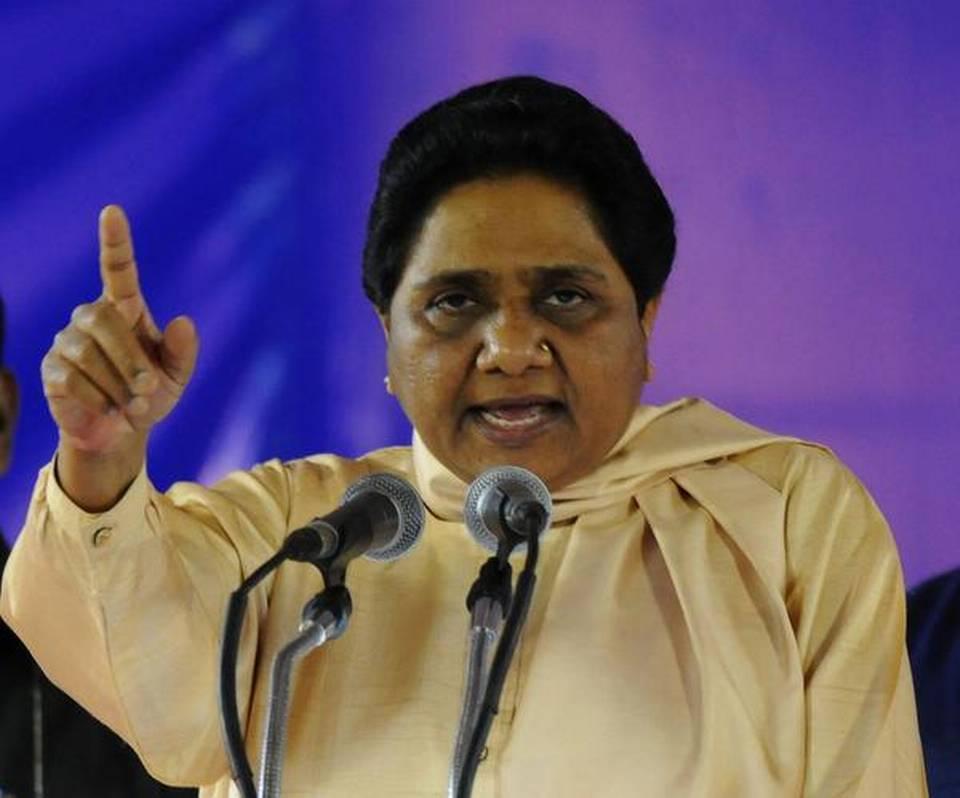 "Mayawati comments on Modi's ""wife abandonment"", Arun Jaitly"