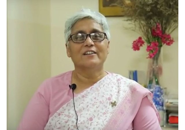 Sr. Anita M. Braganza‎, Provincial Superior of the Sisters of Loreto, South Asia. - RV