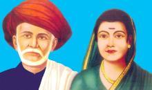Savitribai Phule and Jyotiba Phule