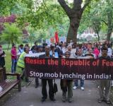 South Asians March in London on Independence Day, Send Open Letter to the President of India