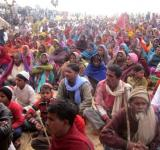 Tribals protest