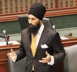 Canadian MP Jagmeet Singh