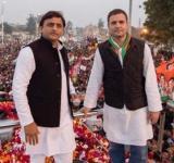 SP-Congress Varanasi road show