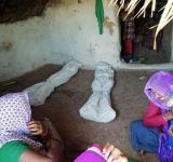 Dalit kids, Valmiki community