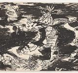 "Jackson Pollock, ""Untitled"", ca. 1943/ metmuseum.org"