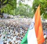 Jamiat holds massive protest at Jantar Mantar in support of Rohingya Muslims