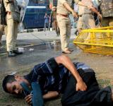 Differently abled protestors beaten up by Guwahati police