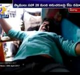 Journalist Nagarjuna Reddy assaulted by brother of local MLA Amanchi Krishnamohan and his supporters,  February 11, Chirala, AP