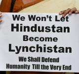 protest against mob lynching