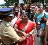 Violence at Sabarimala