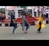 Muslim gilrs trolled