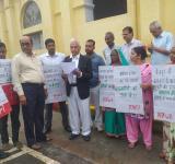 protest, Sultanpur rape case