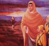 Mata Gujri and Young Sons