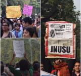 JNUTA March to Parliament
