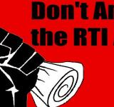 RTI, Centre's amendments