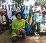 Investigative journalist Sandhya Ravishankar