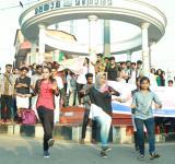 SFI Flash mob