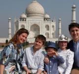 Trudeaus at the Taj