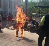 Dalit Bhanubhai Self Immolation