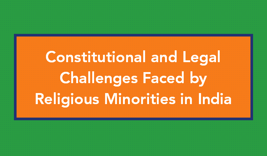 minorities and indian constitution The indian constitution ensures justice, social, economic and political to all citizens the indian constitution has adopted measures for the protection of the rights of the religious and ethnic minorities and of the socially and economically disadvantaged classes such as the scheduled castes.